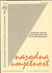 Narodna umjetnost vol. 40 br. 2