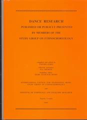 Dance Research 2003.