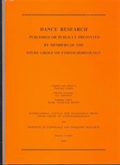 Dance Research 2003.