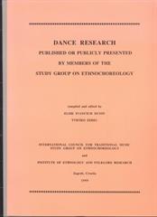 Dance Research 1999.