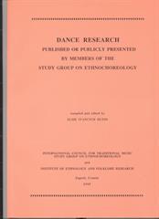 Dance Research 1995.