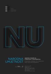 Narodna umjetnost vol. 54 br. 2