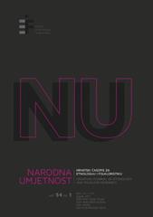 Narodna umjetnost vol. 54 br. 1