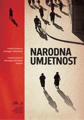 Narodna umjetnost vol. 50 br. 1