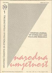 Narodna umjetnost vol. 39 br 1