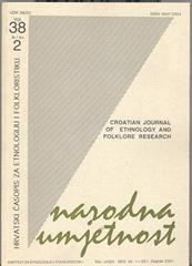 Narodna umjetnost vol. 38 br 2