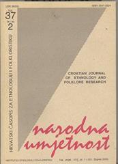 Narodna umjetnost vol. 37 br 2