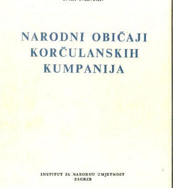 Narodni običaji korčulanskih kumpanija