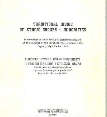 Traditional music of ethnic groups – minorities