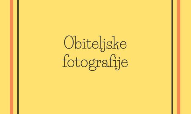 Obiteljske fotografije: kulturnoantropološka perspektiva